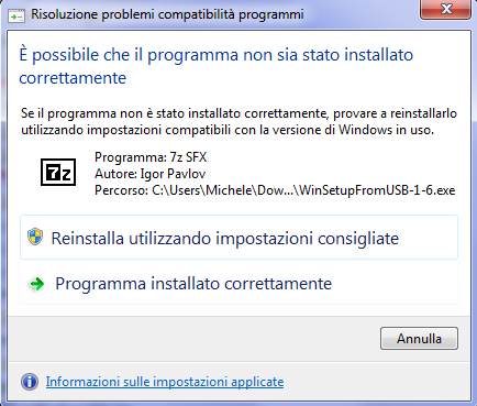 Come installare Windows da USB