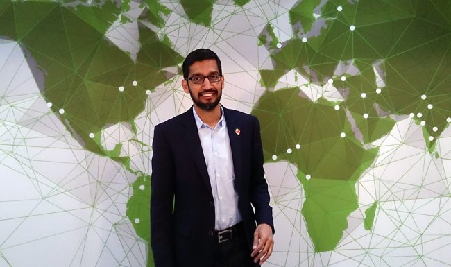 Pichai, CEO di Google: l'intelligenza artificiale va regolamentata