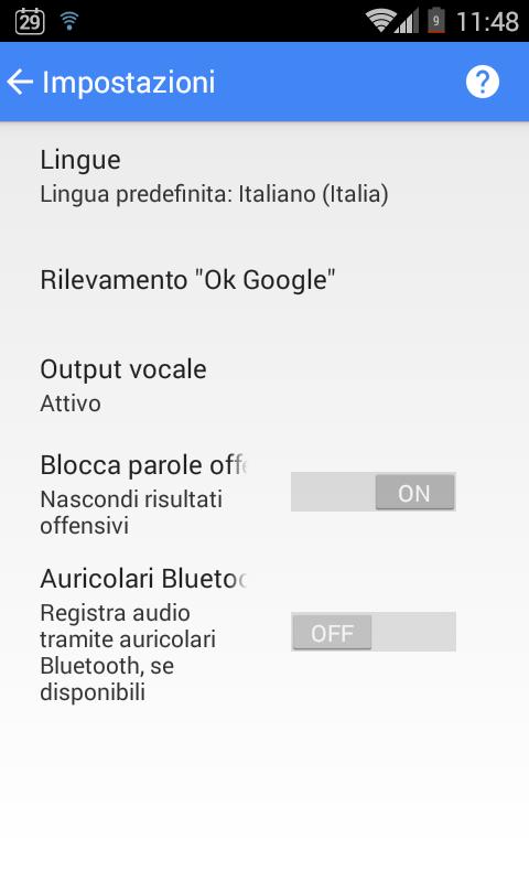 Amato Inviare messaggi con la voce su Android - IlSoftware.it JK82