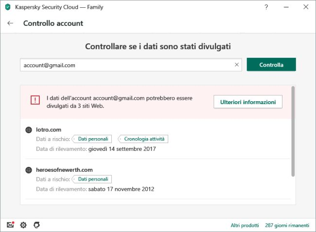 Kaspersky Free sostituito con la suite Security Cloud