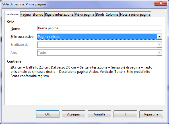 Formattare documenti Word con LibreOffice