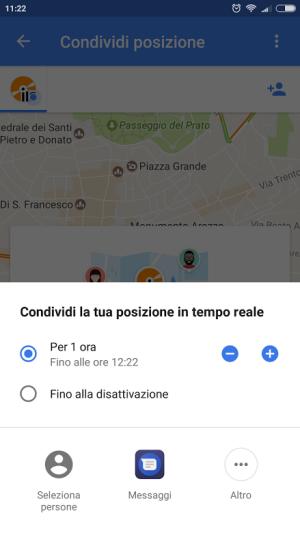 localizzare cellulare google
