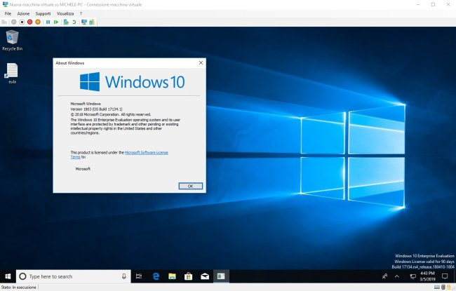 Macchina virtuale Windows 10 con Hyper-V: come utilizzarla