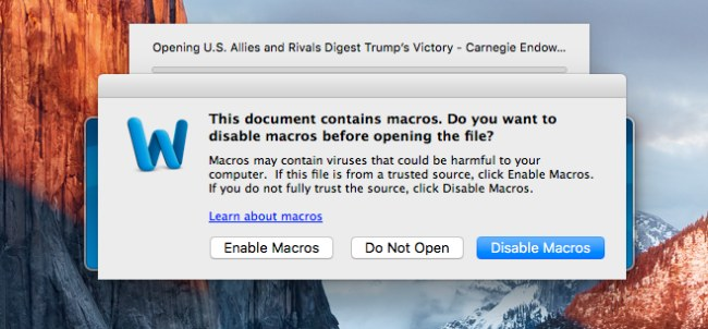 Due malware prendono di mira macOS usando tecniche note in ambiente Windows