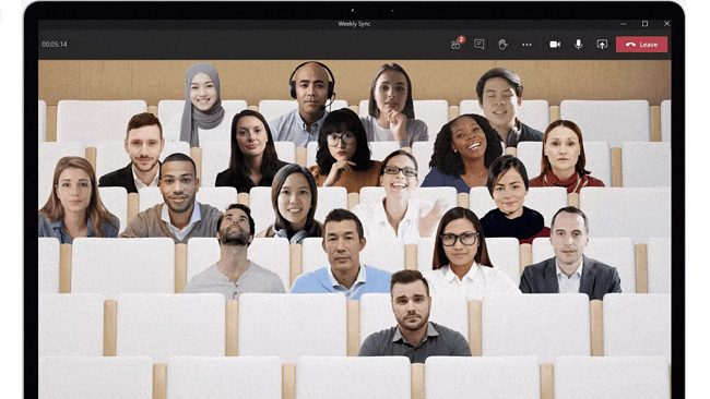 Microsoft Teams, videochiamate più coinvolgenti con Together Mode