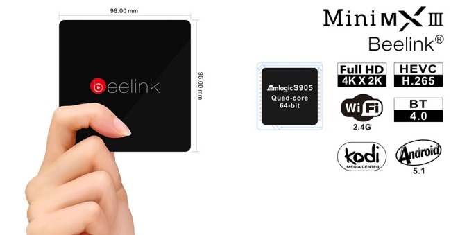 Mini PC Android: Beelink Mini MX III potente e versatile