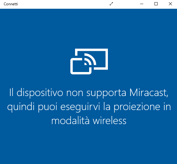 Miracast Android, streaming dai dispositivi a Windows 10
