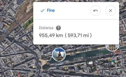 Misurare distanze con Google Maps ed Earth
