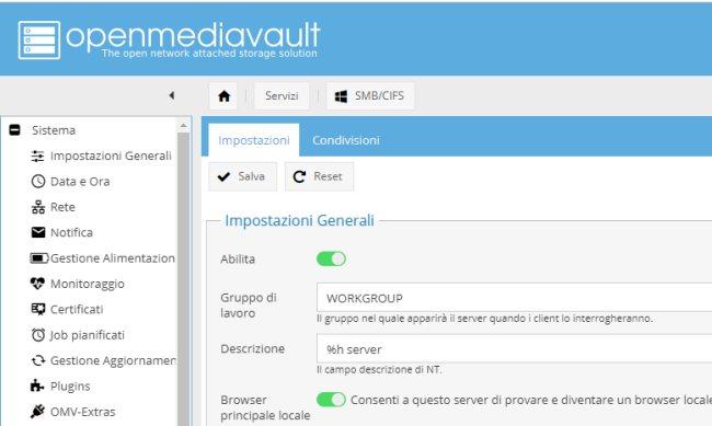 OpenMediaVault, cos'è e come costruire un NAS da soli