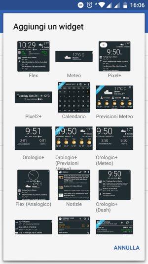 Orologio Widget Visualizzare Data E Ora Meteo Calendario E Altre