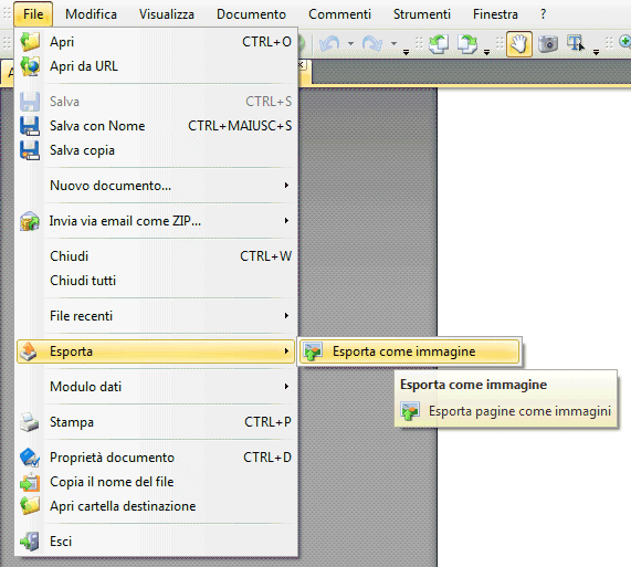 how to change a pdg to jpeg