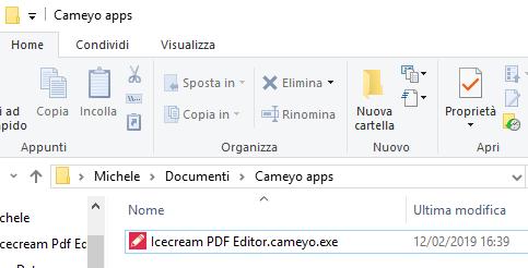cameyo download portable italiano