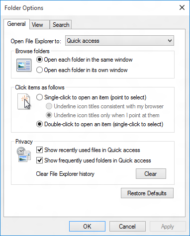 Quick Access, accesso veloce ai file in Windows 10