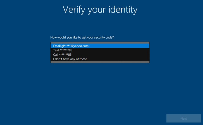 Recuperare la password dell'account utente Windows 10