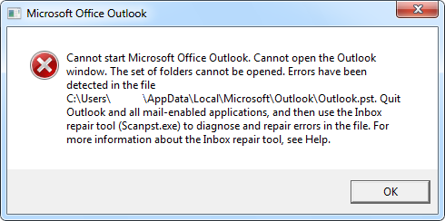 Come recuperare file di Outlook