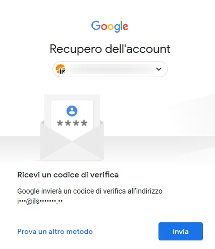 Recupero password Gmail: come procedere