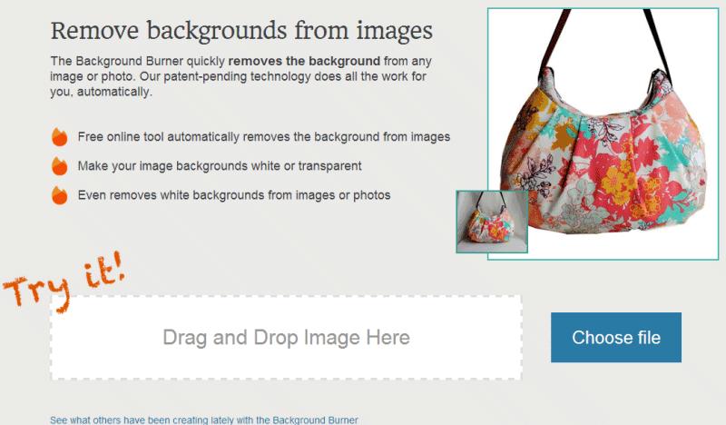 Eliminare sfondo immagine png