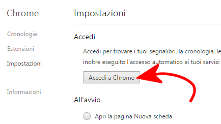 Salvare i preferiti di Chrome, come fare