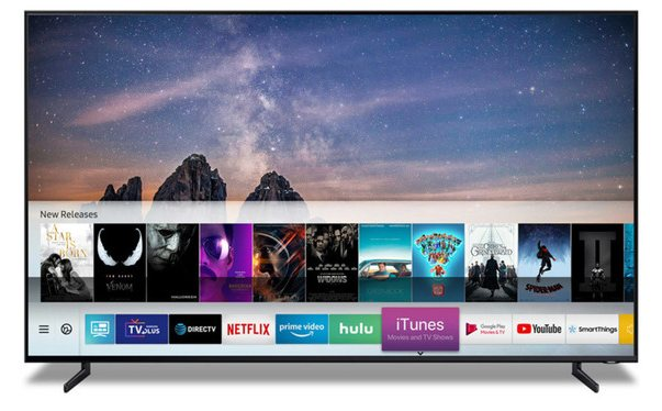 Apple iTunes e AirPlay 2 sbarcano sui nuovi televisori Samsung