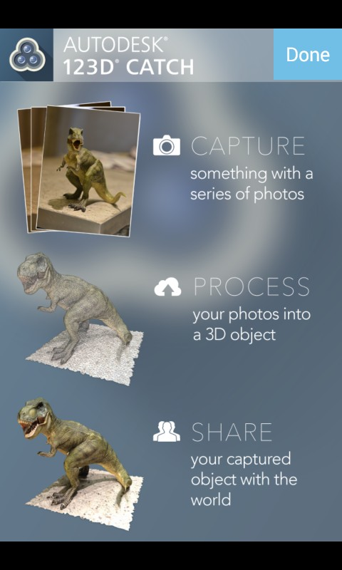 Scansione 3D con Android e iOS: 123D Catch e Structure