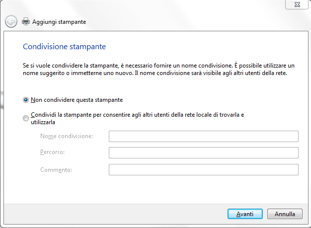 Scansione documenti da stampante a PC con WSD