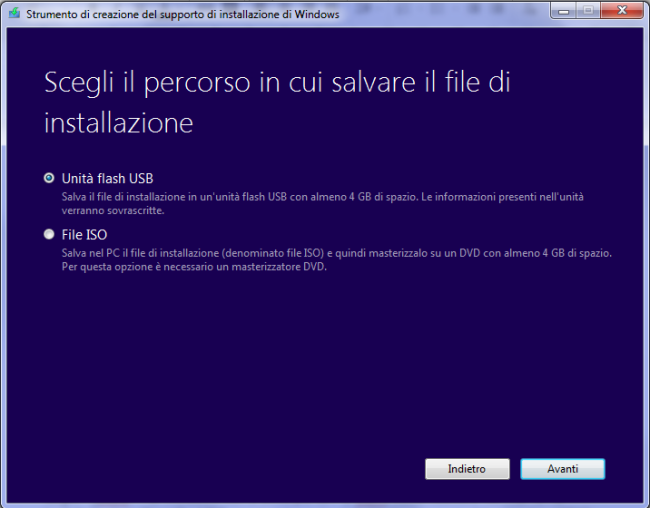 Scaricare Windows 7, Windows 8.1 e Windows 10 dai server Microsoft