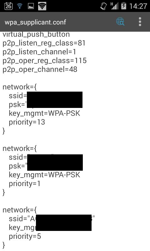 trovare password wifi su iphone 5