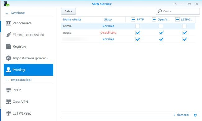 Server VPN, come crearlo usando un NAS