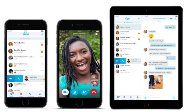 Skype 6.0 per Android e iOS cambia volto in Telefonia