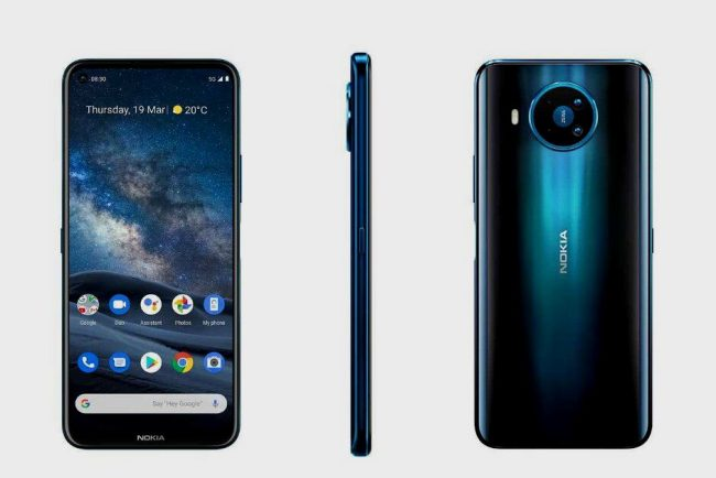 Nokia 8.3, bello smartphone di gamma media con supporto 5G
