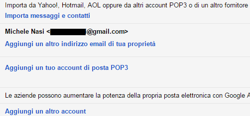 Spostare email da altri account a Gmail o Outlook.com