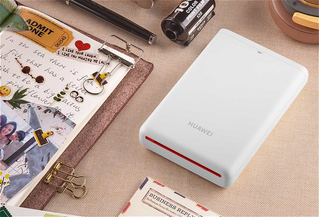 Stampante portatile Huawei CV80 senza inchiostro: come funziona