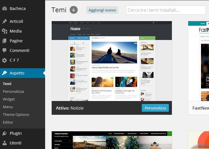 Modificare temi WordPress: come fare per non sbagliare