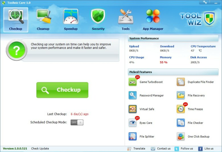 Toolwiz Care 3.1.0.5300