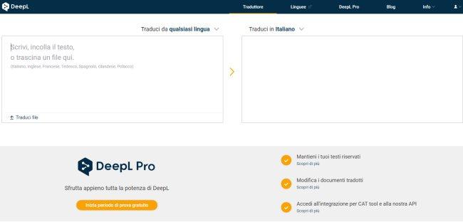 Traduttore online efficace e veloce che mantiene anche il layout dei documenti