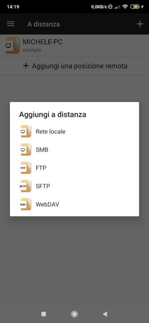 Trasferimento file da Android: come fare con SMB e FTP