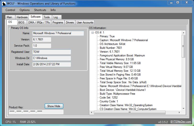 Trovare Product key Windows 8 e 8 1 nel BIOS UEFI - IlSoftware it