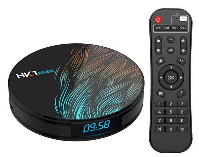 TV box Android 9.0 HK1max: 4 GB di RAM, 64 GB di storage e supporto 4K UHD