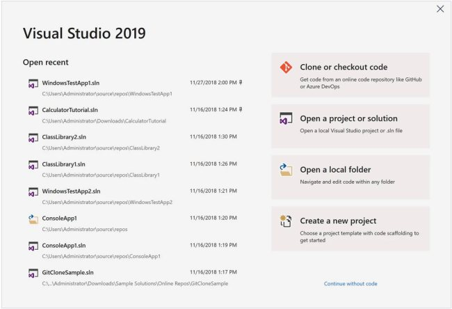 Visual Studio 2019, download in versione finale