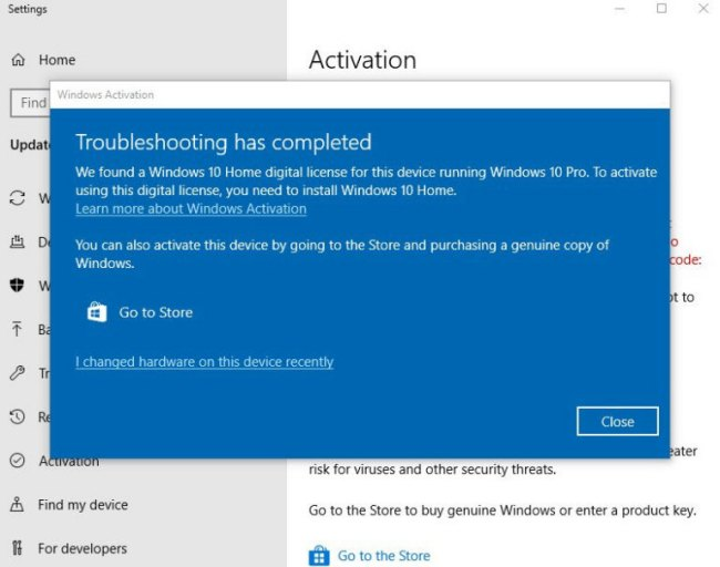 Secondo windows 10 pro la licenza utilizzata non valida for La licenza di windows sta per scadere