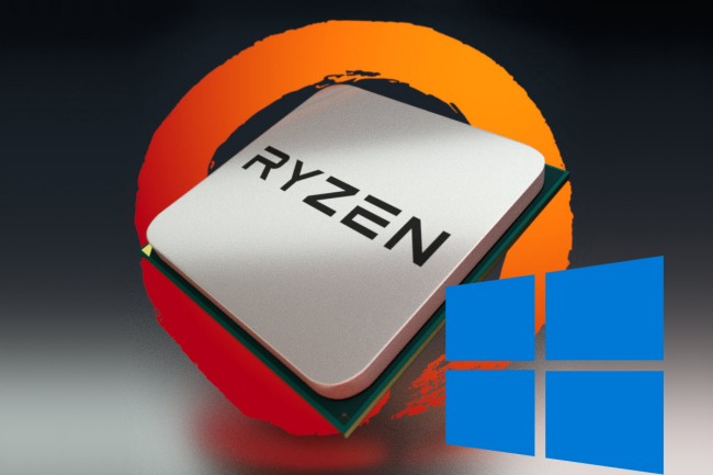 AMD: nessun problema con i processori Ryzen 7 e Windows 10
