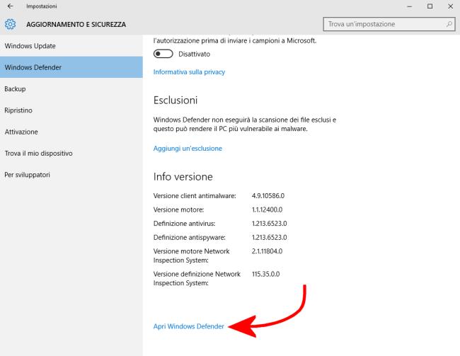 Windows defender opinioni sulla sua reale utilit - La finestra biz opinioni ...