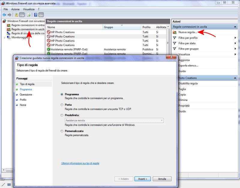 Aprire Porte Firewall Windows 7.Configurare Il Firewall Di Windows 7 8 E 8 1 Con Windows